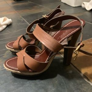BCBGirls Brown Platform Sandals